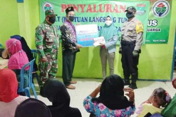 Pemerintah Desa Tanjung Pasir Salurkan 190 KK Penerima BLT Dana Desa Tahap I Tahun 2020