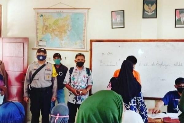 Desa Tanjung Pasir Salurkan BLT Kemensos Tahap II
